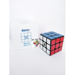 Rubik 3x3 Moyu MF3RS3M MF3RS3 Magnetic Black