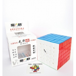 Rubik 6x6 Qiyi Wuhua V2 Stickerless
