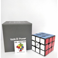 Rubik 3x3 Qiyi Valk 3 Power Black