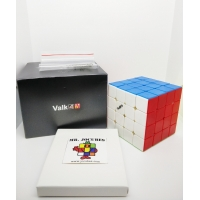 Rubik 4x4 Qiyi The Valk 4 M Standard Magnetic Stickerless