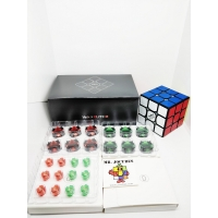 Rubik 3x3 Qiyi The Valk 3 Elite M Magnetic Black