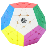 Rubik Qiyi Xman Galaxy Megaminx Plane Stickerless