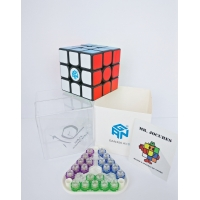Rubik 3x3 Gan 356 AIR S Super Speed Black