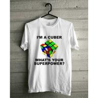 I'm a cuber T-Shirt White by Jocubes