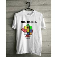 Mr. Rubik T-Shirt White by Jocubes
