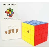 4x4 Jocubes Stickerless Red Speedcube