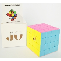 4x4 Jocubes Stickerless Pink Speedcube