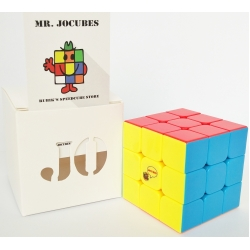 3x3 Jocubes Stickerless Red Speedcube