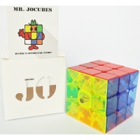 3x3 Jocubes Transparent Speedcube
