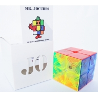 2x2 Jocubes Transparent Speedcube
