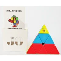 Jocubes Pyraminx Speedcube Stickerless