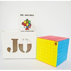 7x7 Jocubes Speedcube Stickerless