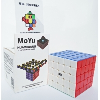 5x5 Moyu Huachuang Stickerless