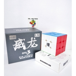 Rubik 3x3 Moyu Weilong GTS 3 LM Light Magnetic Stickerless