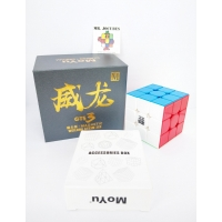 Rubik 3x3 Moyu Weilong GTS 3 M 3M Magnetic Stickerless