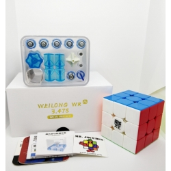Rubik 3x3 Moyu Weilong WR M Magnetic Stickerless