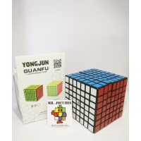 Rubik 7x7 Yongjun YJ Guanfu Yufu Black
