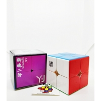 Rubik 2x2 YJ Yongjun Yupo M Magnetic Stickerless