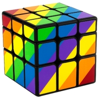 3x3 YJ Yongjun unequal rainbow cube